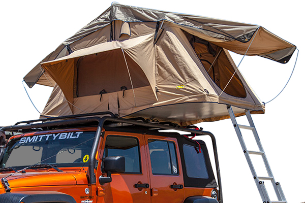 rooftop tent for land cruiser camping setup