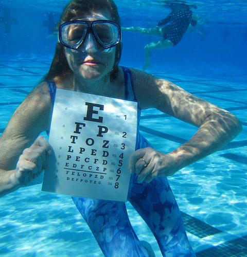 snorkel withglasses